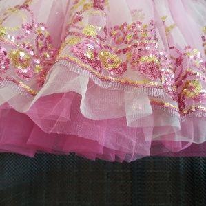 Curtain Call Dresses - Dance recital ballet pageant tutu dress small
